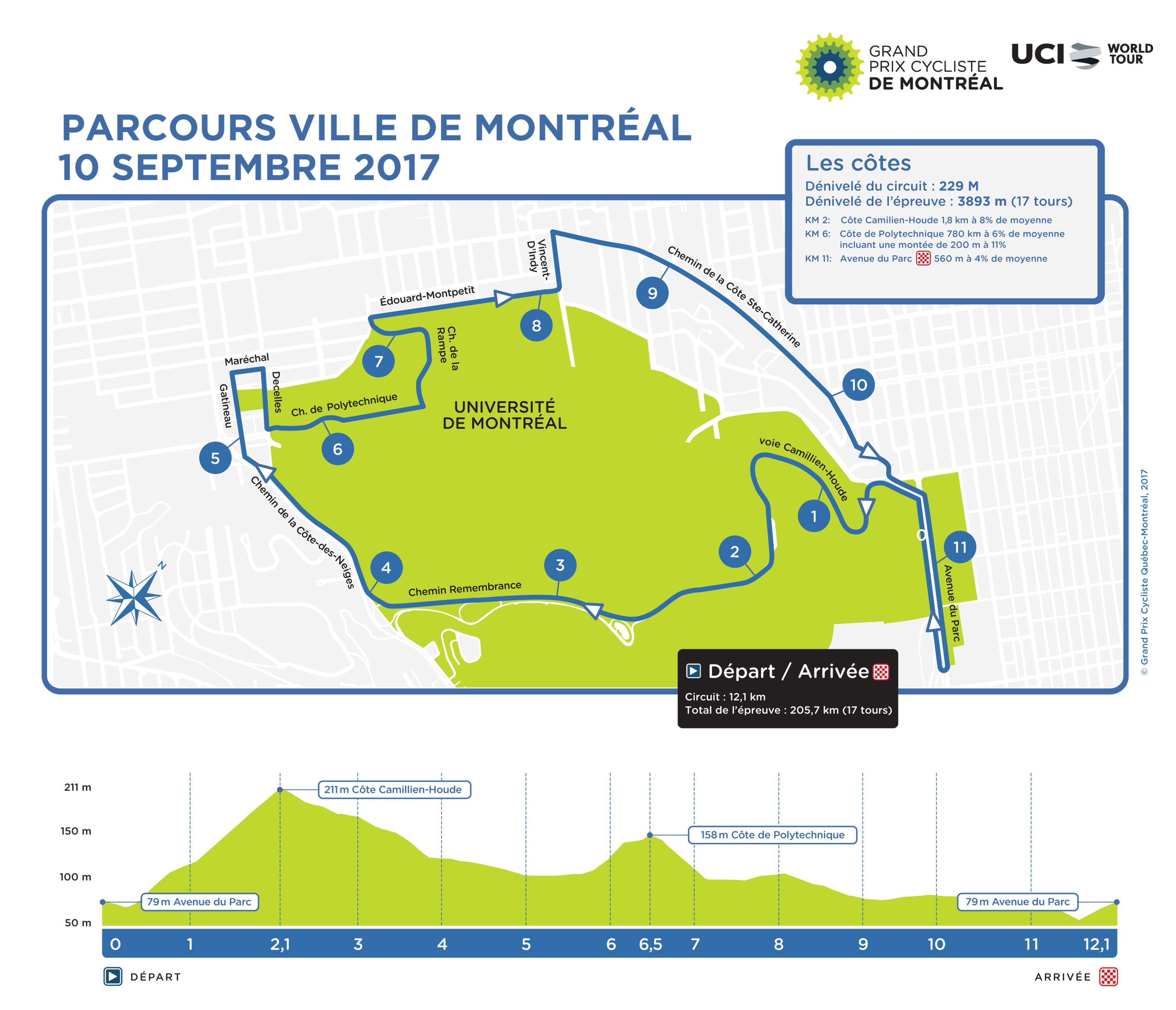Grand Prix Cycliste de Montréal GPC_MTL_PARCOURS_FR_2017-1
