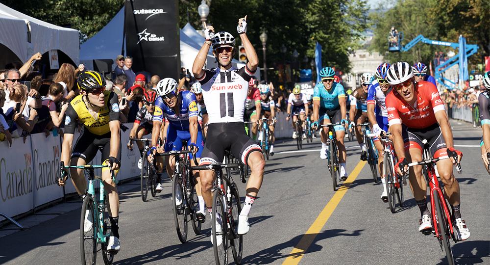 Cycliste Image grands prix cyclistes | québec et montréal 2019 | uci world tour